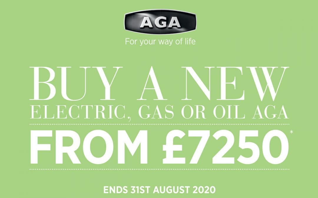 Buy a New AGA from £7250*