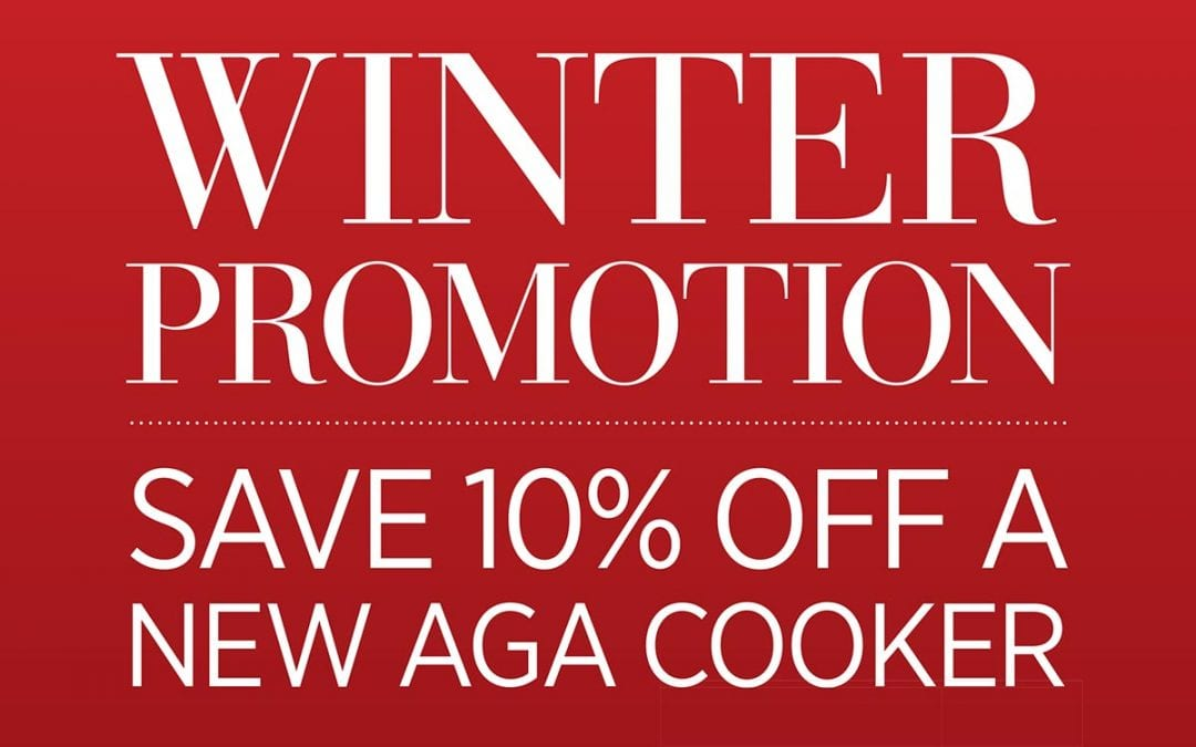 Winter Promotion – Save 10% off an AGA Cooker